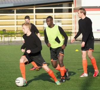 jordi positie spel U19 - Sparta