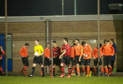 aanloop U17  vs Heerenveen