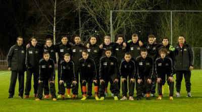 elftal foto zw vs Heerenveen O17