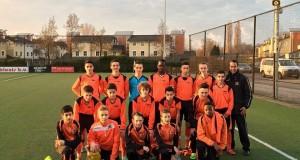 elftal O15 tegen Sparta mrt 2016